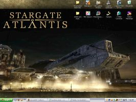 Stargate Atlantis Desktop by Delta-HT
