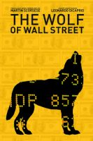 The Wolf of Wall Street minimalist poster by DComp