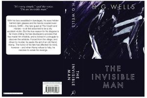 Book Cover - The Invisible Man by deebeeArt