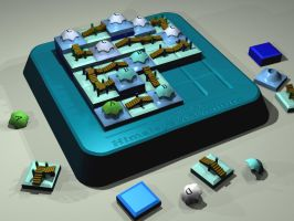 Himalaya Puzzle Game by Hedge-o-Matic