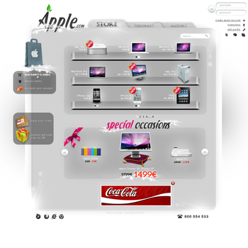 Apple Store Layout by Tottino