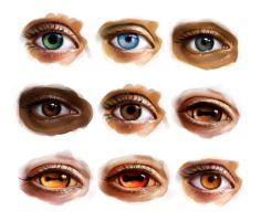 Element eyes by KimDingwall