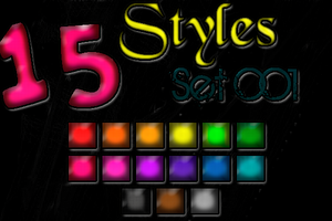 Styles Set+OO1. by AnthonyGimenez