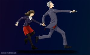 Clara And the Doctor by Falln4DarkAngel