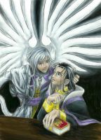 Clow and Yue by MantraV