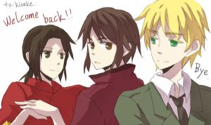 APH-Welcome Back by Nekomatako