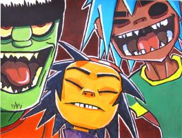GorillaZ by T-R-L