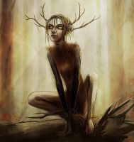 Forest spirit by VivienKa