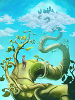Jack and the Beanstalk by jeshoo