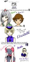 Persona 3 Meme by LeafKiD