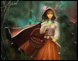 Little Red Riding Hood by Eachi