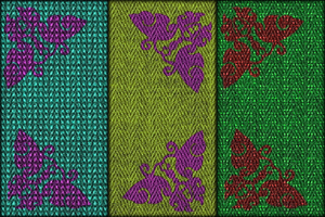 Fabrics with Butterflies by allison731