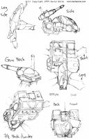 Mecha Zone: Crab Tank details by Mecha-Zone