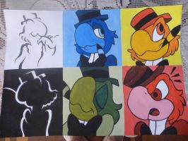 jose carioca complete picture by G-Blue16
