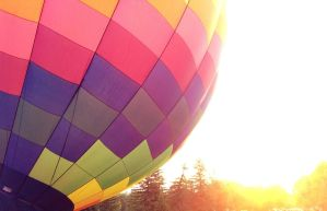 Hot Air Balloon Ride by OliverWDahl