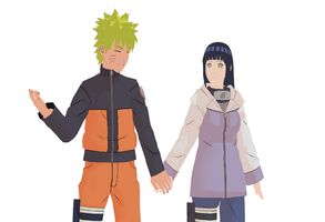 MMD NaruHina- By your Side by Shadow-chan15