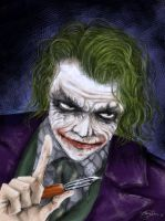 Why so serious? by E-f-e-u
