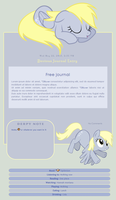Free Derpy Journal by DBluver