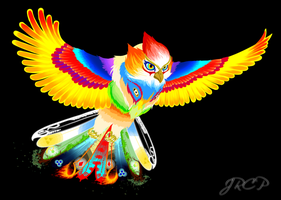 Phoenix by Gryphon-Shifter