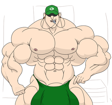 coach muscle by MamaLuigi7
