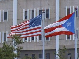 U.S.A and Puerto Rico FLAGS by FoxClaw100