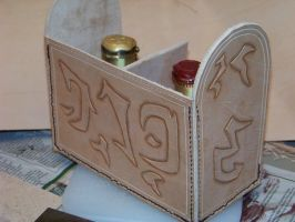 potion case wip 1b by MerrillsLeather
