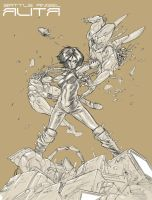 Battle Angel Alita by StarExtinction