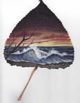 painted leaf...2 by Arteestique