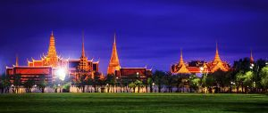 Temple of The Emerald Buddha and The Grand Palace by palmbook