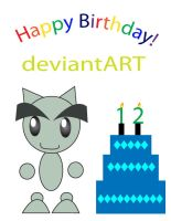 Happy Brithday deviantART by sugarislife28