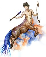Sagittarius by Ooupoutto