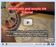 Watercolor Tutorial Video 8 by lady-cybercat