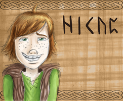 Hiccup Badge by SacredCandybar