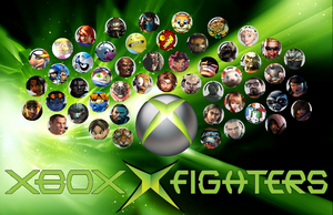 Xbox X Fighters (xbox smash) by Hangman95