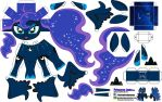 Princess  Luna (Joinys 001) by ELJOEYDESIGNS