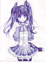 Hatsune Miku (All Pen) by ChiChizu