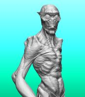 Personal ZBrush wip. by DaveGrasso