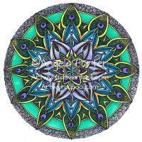 Coloured Mandala 14 Sept 2014 by Artwyrd