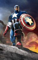 Captain America by BearClawStudios