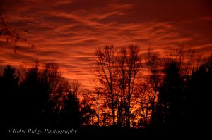 Sky on fire by RobyRidge