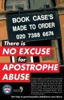 Apostrophe Abuse by Fly-Dog