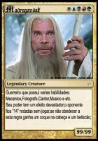 Madrugandalf card by tonatello