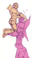 10min doodle_Fulcrum+Misfire by eabevella
