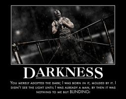 Bane Is Darkness by TopcowImage2dF