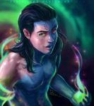 Loki with Magic by pastellZHQ