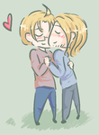 APH - FrUS - allineedislove by ChaoticMiko