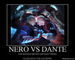 Nero vs. Dante by Orochimizuki