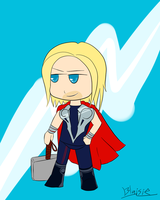 THE ALMIGHTY THOR by Blaisie