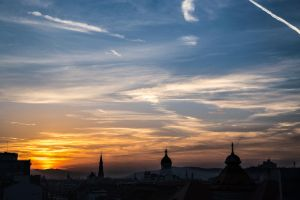 Sunset over Cluj - 2 by Reiep