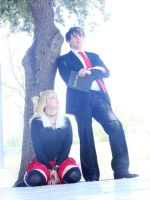Amane misa and yagami light by PrisCosplay